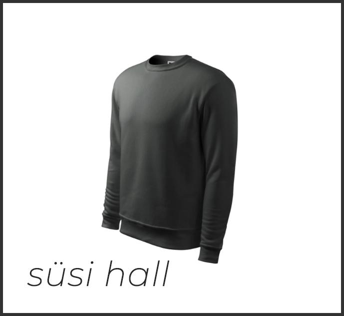 süsisall kapuutsita sviiter